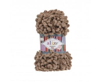 Farbe 329 braun - Alize Puffy Fine 100g