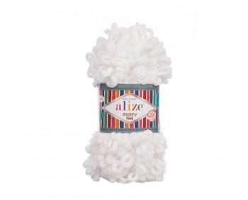 Farbe 55 weiß - Alize Puffy Fine 100g