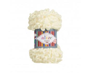 Farbe 62 cream - Alize Puffy Fine 100g