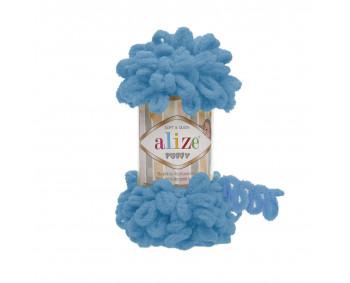 Farbe 16 türkisblau - Alize Puffy 100g