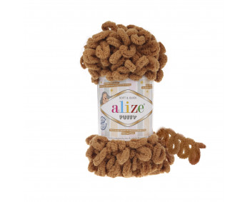 Farbe 179 camel - Alize Puffy 100g