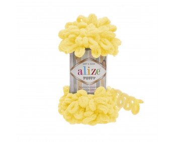 Farbe 216 gelb - Alize Puffy 100g