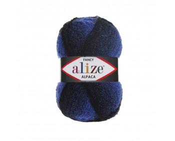 Farbe 1250 blau-schwarz - Alize Rainbow 350g