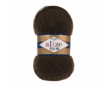 Farbe 201 braun - Alize Real 40 Uni 100g