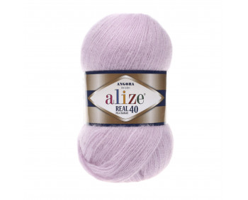 Farbe 27 flieder - Alize Real 40 Uni 100g