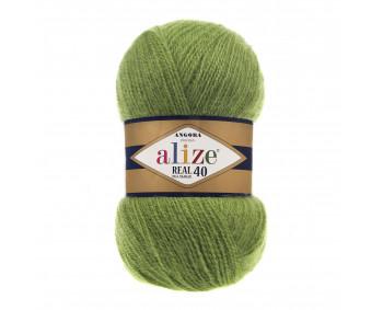 Farbe 485 grün - Alize Real 40 Uni 100g