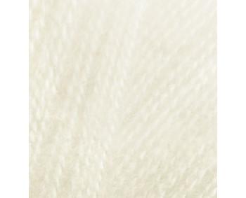 Farbe 01 cream - Alize Real 40 Uni 100g