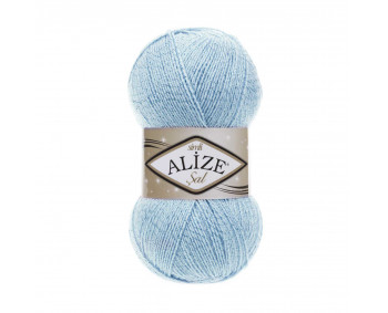 Farbe 40 blau - ALIZE Sal Sim mit Glitzer 100g