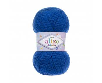Farbe 141 royal - ALIZE Sekerim Baby Uni 100g