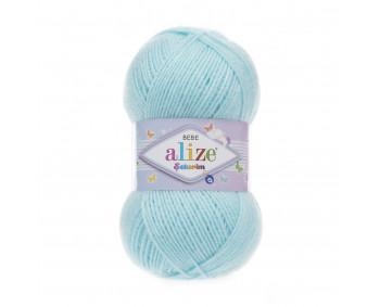 Farbe 189 babyblau - ALIZE Sekerim Baby Uni 100g
