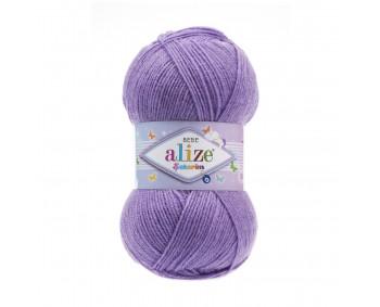 Farbe 247 violett - ALIZE Sekerim Baby Uni 100g