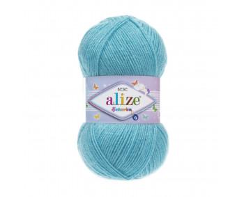 Farbe 287 türkis - ALIZE Sekerim Baby Uni 100g
