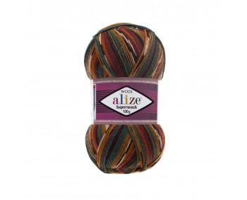 Farbe 4447 - Alize Superwash100 Sockenwolle 100g