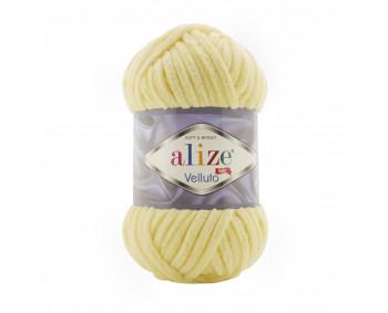 Farbe 13 vanille - Alize Velluto 100g - Chenille Garn