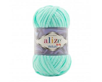 Farbe 19 aqua - Alize Velluto 100g - Chenille Garn