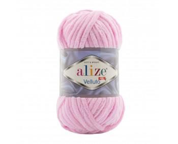 Farbe 31 babyrosa - Alize Velluto 100g - Chenille Garn