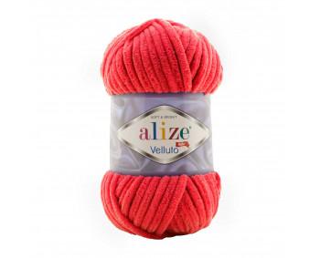 Farbe 56 rot - Alize Velluto 100g - Chenille Garn
