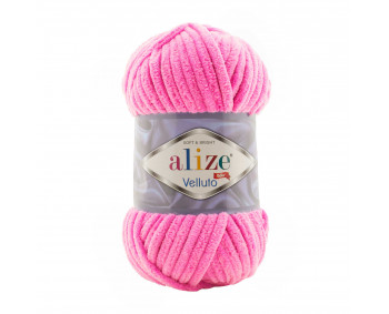 Farbe 121 candy pink - Alize Velluto 100g - Chenille Garn