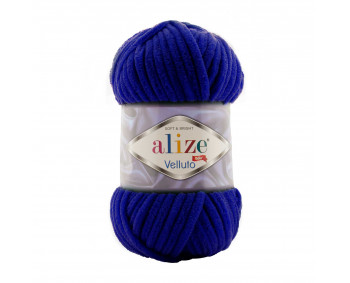Farbe 360 royalblau - Alize Velluto 100g - Chenille Garn