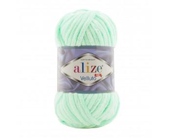 Farbe 464 mint - Alize Velluto 100g - Chenille Garn