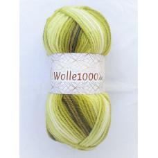 !NEU! Wolle1000 - Extra 200g - Farbe 03 grüntöne