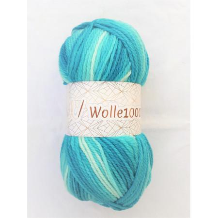 !NEU! Wolle1000 - Extra 200g - Farbe 06 türkistöne