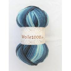 !NEU! Wolle1000 - Extra 200g - Farbe 19 blautöne
