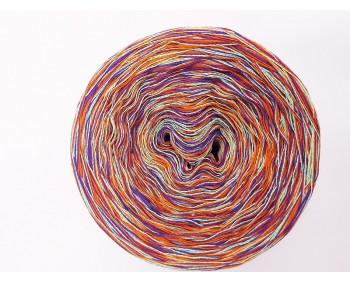 601 - Mint-Orange-Lila-MIX - 100% Baumwolle - Bobbel