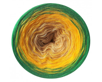Farbverlauf 01Hochbausch-Acryl (Bambu-Gelb-Grün)