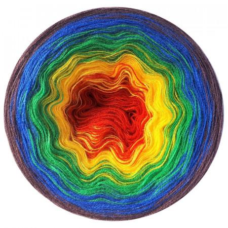 Farbverlauf 05Hochbausch-Acryl (Regenbogen)