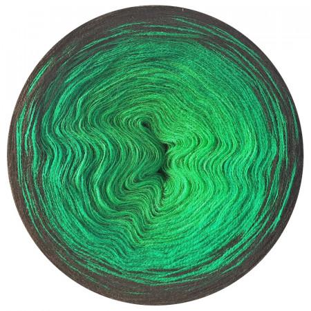 Farbverlauf 06Hochbausch-Acryl (Grün-Gras-Schwarz)