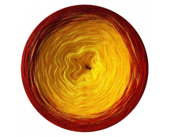 Farbverlauf 07Hochbausch-Acryl (Lemon-Gelb-Rot)