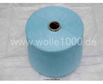 Farbe Aqua - gefachtes Garn - Uni-Farben