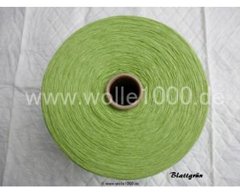 Farbe Blattgrün - gefachtes Garn - Uni-Farben