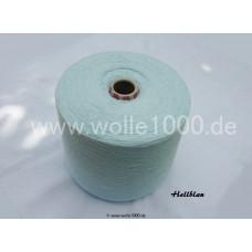 Farbe Hellblau - gefachtes Garn - Uni-Farben