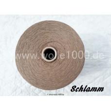 !NEU! Konengarn Stärke 30/2 Nm - Farbe Schlamm - ca. 1300g