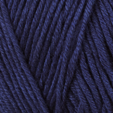 Farbe 08 marine - Mercan Uni Microfaserwolle 100g
