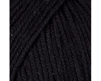 Farbe 52909 schwarz - Mercan Uni Microfaserwolle 100g