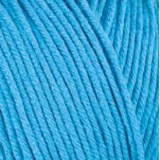 Farbe 23 türkis - Mercan Uni Microfaserwolle 100g