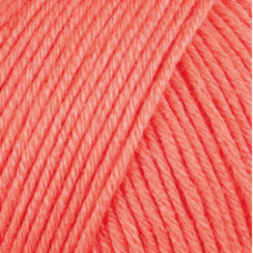 Farbe 30 lachs - Mercan Uni Microfaserwolle 100g