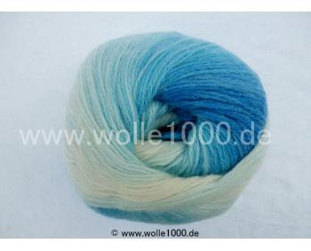 556-10 blautöne - Papatya Angora Batik 100g
