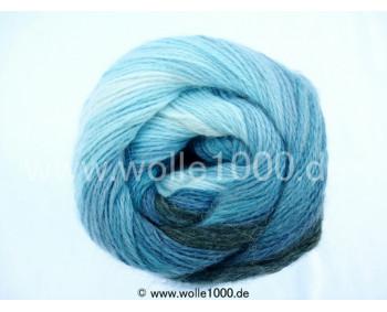 556-19 dunkle blautöne - Papatya Angora Batik 100g