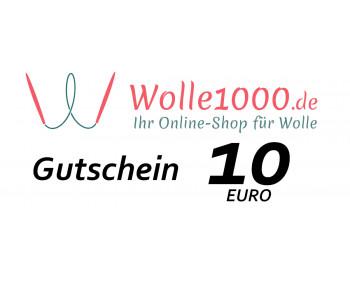 Geschenkgutschein im Wert von 10 EURO
