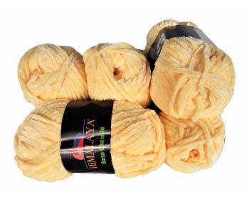 Himalaya Bursa Chenille - gelb - 5er Pack - Sonderposten
