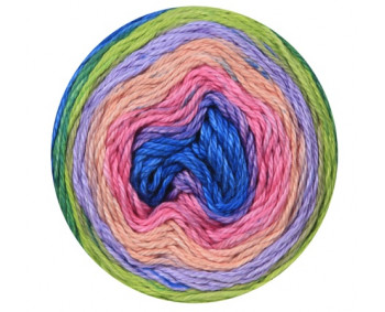 22-09 - Cotton Royal Color Waves 100% Baumwolle fibra natura - 100g