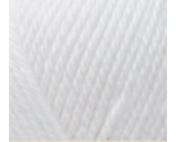 105-01 weiß - LUXOR 100% Baumwolle fibra natura - 50g