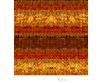 Farbe 59511 - Mercan Batik Microfaserwolle 100g