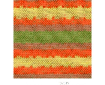 Farbe 59519 - Mercan Batik Microfaserwolle 100g