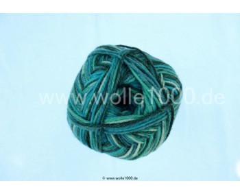 Farbe 120-04 - petrol-türkis-anthrazit - Himalaya Socks Bamboo Sockenwolle 100g