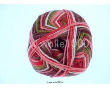 Farbe 140-03 lachs-braun-oliv - Himalaya Socks Sockenwolle 100g